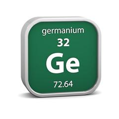 Germanium material sign