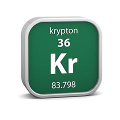 Krypton material sign