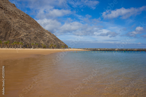 beach of  Tenerife, Spain