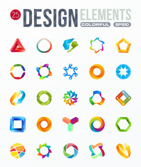 icon set. logo design elements
