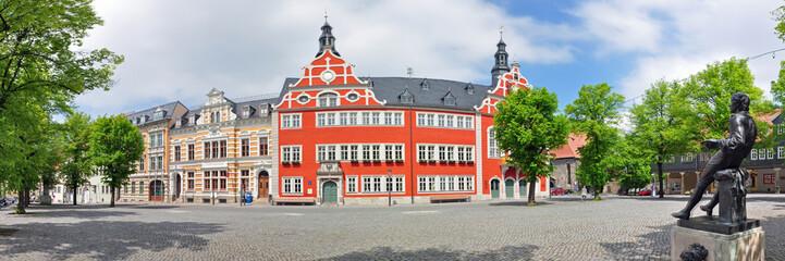 Panoramafoto Marktplatz von Arnstadt