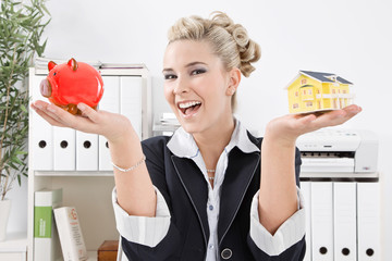 Sparen auf das Eigenheim - Immobilienmakler