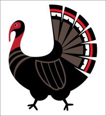 Turkey stylise image