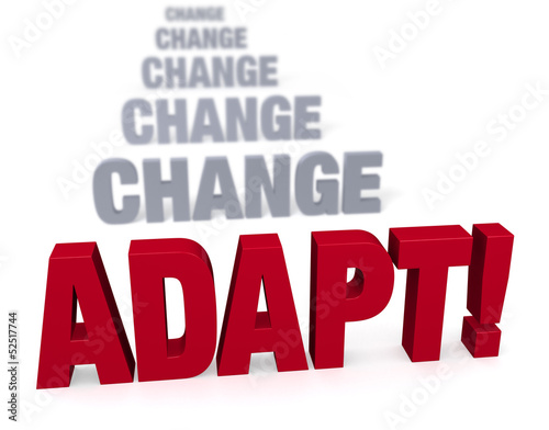Focus On Adapating In The Face Of Change