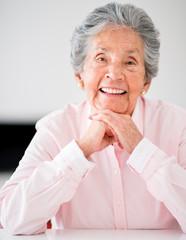 Portrait of an senior woman