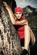 climber woman