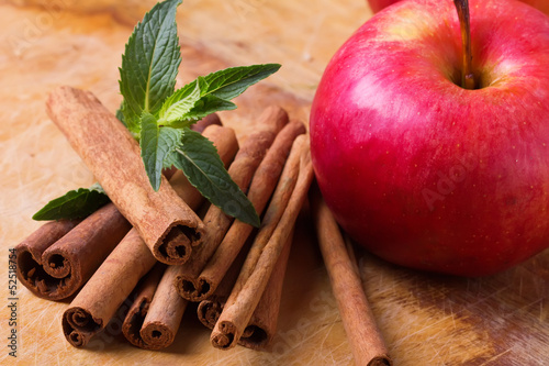 Cinnamon and apple