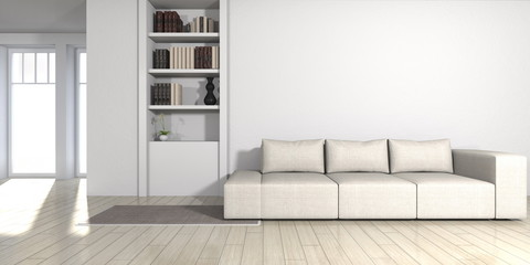 modern living room - interior architecture