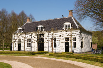 Couch house estate Beeckestijn in Holland