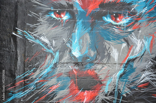 Fototapeta Wall Painting