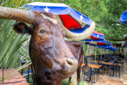 Fotobehang Texas San Antonio Riverwalk Cafe