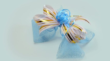 gift bow (bow for gift wrapping)