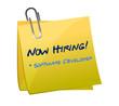 hiring software developer post illustration
