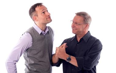 Zwei Männer