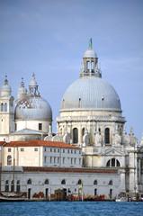 Santa Maria della Salute Kirche in Venedig, Italien
