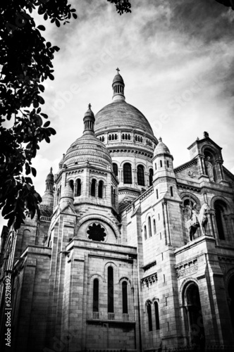 Basilica of the Sacred Heart of Paris.