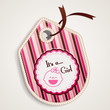 Baby girl label