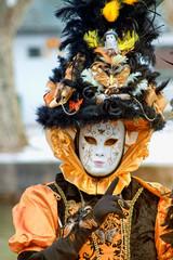 Masque vénitien à Annecy