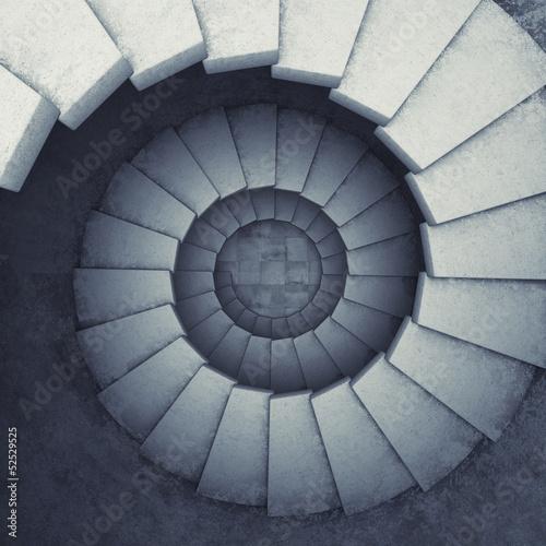 Spiral stair - 52529525