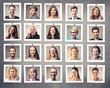 portraits of people