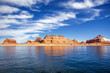 view on famous lake Powell