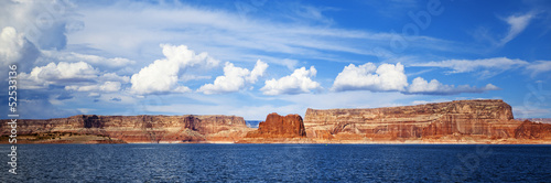 panoramic view on lake Powell