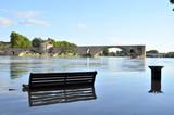 pont d'avignon inondation