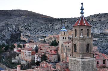 Albarracin village in Spain