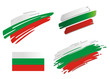 Brush Flags Bulgaria