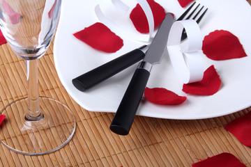 Liebe auf einem Teller