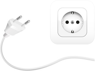 Electric Socket and Plug ( Strom Steckdose und Stecker )