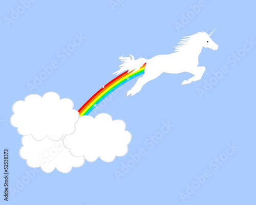 Leaping Unicorn