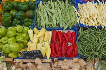 Naschmarkt Gemüse