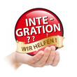 Hand - Plakette - Integration