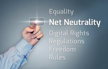 "Virtual Touchscreen ""Net Neutrality"""