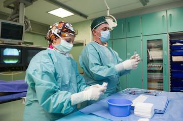 Medicina emodinamica operazione chirurgica - foto ©Yuri Laudadio