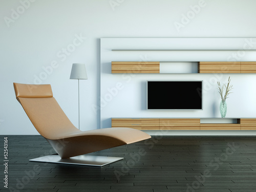 Wohndesign - Ledersessel