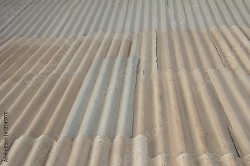 background of asbestos slate roof