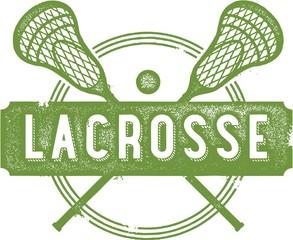 Vintage Lacrosse Sport Design