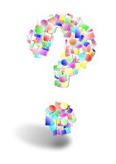 Question mark bubble