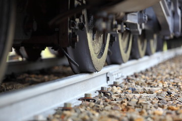 Heavy Locomotive Wheels