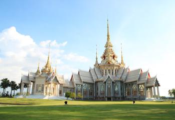 Thai style church at Nakhonratchasima province, Thailand