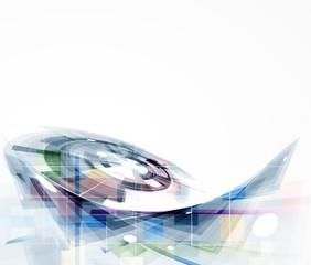 abstract futuristic internet high computer technology business b