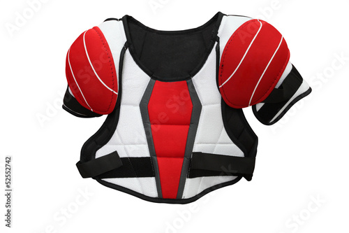The image of hockey protective uniform