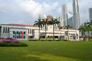 Singapore parliament building