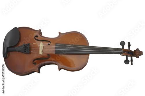Staande foto Muziekwinkel violin