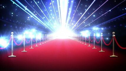 Magic red carpet loop