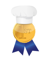 cooking contest 1st place winner ribbon
