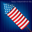 Happy Independence Day card in vector format.