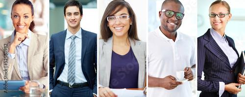 Elegant business people